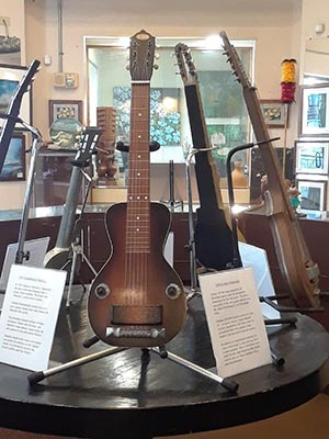 Steel Guitar Exhibit